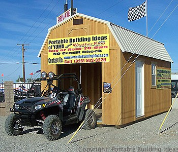 Storage Sheds to store your ATV's