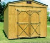 Wood Treated, Utility Storage Sheds